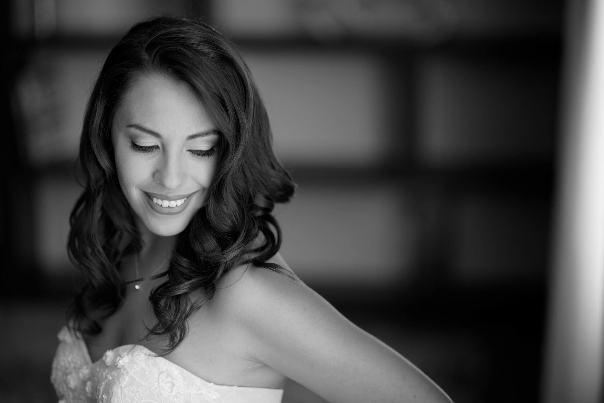 Bride close up Sheraton Lisle Naperville